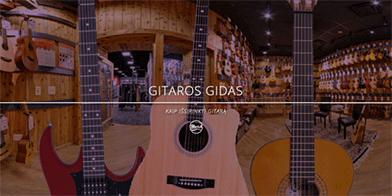 Kaip išsirinkti gitarą