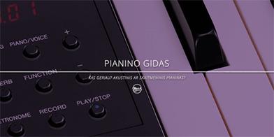 Akustinis ar skaitmeninis pianinas?